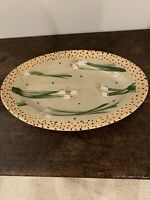 Droll Designs- Large Oval Platter- Spring Onions New