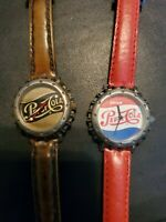 Pepsi-Cola Quartz Analog Bottle Cap Watch