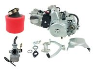 125CC SEMI AUTO ENGINE MOTOR 4 SPEED w/ REVERSE For Go Kart ATV QUAD BUGGY