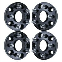 4pc 1quot; Hubcentric Wheel Adapter 5x5 to 5x4.5 Fits Jeep JK to Old Wheels TJ YJ