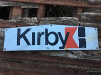 Vintage Kirby Building Systems Tin Sign
