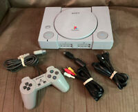 Official Sony PlayStation 1 PS1 Console Complete w Controller Fast Shipping $99.99