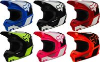 Fox Racing V1 REVN Helmet Adult MX Offroad ATV SXS Dirtbike