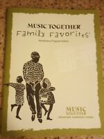 Music Together Family Favorites Songbook Book Only No CD Bringing Harmony Home $10.00