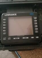Lowrance X55A Fish Finder Depth Finder No Power Cord No Transducer