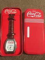 Coca Cola Watch New In Red Coca Cola Tin