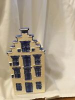 Delft Blue Amsterdam Canal House