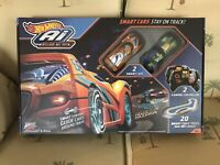 New* Hot Wheels Ai SMART CARS Intelligent Race System 2 Cars amp; Controllers 2.4 $44.99