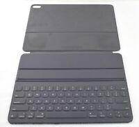 READ *USED Apple Smart Keyboard Folio for 12.9quot; iPad Pro A2039 Charcoal Gray $17.99