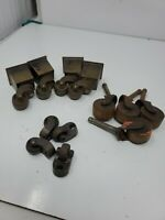 3 Vintage sets Small Casters