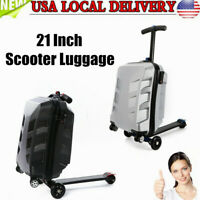 21quot; Scooter Travel Carry Luggage Suitcase Skateboard Travel Storage Box Fashion