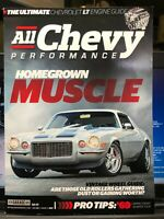 All Chevy Performance Vol. 1 #3 69 Camaro LT Guide 64 69 Chevelle Old Wheels