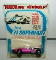 Matchbox Superfast No 34 Formula 1 Racing Car Trade in Your Old Wheels MOC HTF