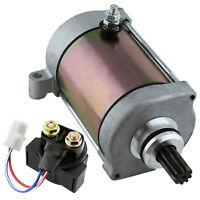 Starter & Relay Solenoid for Yamaha Grizzly 600 YFM600 1998 1999 2000 2001 Atv