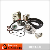 Fit 93-01 Honda Prelude DOHC Timing Belt Water Pump Tensioner Kit H22A1 H22A4