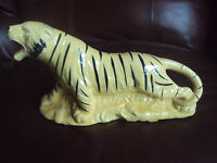 Vintage McCoy??? Unsigned Tiger Big Cat Planter. Beautiful!