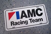 AMC RACING TEAM LICENSE PLATE TAG 1967 1968 1969 1970 1971 1972 1973 1974 1975