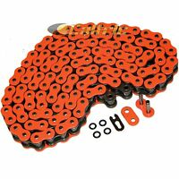 530 X 120 Links Motorcycle Atv Orange O-Ring Drive Chain 530-Pitch 120-Links