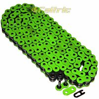 530 X 120 Links Motorcycle Atv Green O-Ring Drive Chain 530-Pitch 120-Links