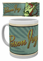 BATMAN - DC COMICS - CERAMIC COFFEE MUG / CUP (VINTAGE / RETRO POISON IVY)