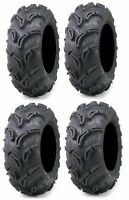 Four Maxxis Zilla ATV Tires Set 2 Front 28x9-14 & 2 Rear 28x11-14 6 ply set of 4