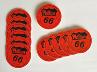 Set of 12 Phillips 66 3