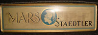 Old vintage Tin MARS STAEDTLER Pencil Box from Germany 1950