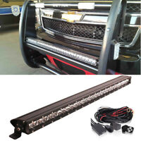 21-Inch 100W Single-Row Slim LED Light Bar For Truck Jeep Off-Road 4x4 ATV