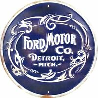 Sign - Ford Motor Company Retro