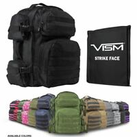 Backpack with Bulletproof Panel Insert MADE IN THE USA Level IIIA Armor