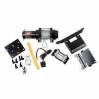 Polaris SPORTSMAN 400 H.O. 2011–2014 Tusk Winch w/ Wire Rope and Mount Plate