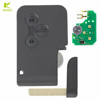 3B Smart Card Remote Key Fob 433 MHz W Chip ID46 for RENAULT Megane Scenic Clio $9.59