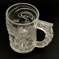 McDonald's BATMAN Forever Glass Coffee Mug Cup 1995 Vintage 90s