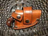 NAA Mini & Magnum Leather CROSSDRAW DRIVING Holster (TAN)