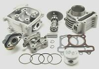 Cylinder Piston and Head Overhaul Kit For GY6 50cc 60cc 80cc 139QMB ATV Scooter