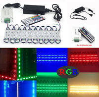 RGB 10~500FT 5050 SMD 3 LED Module Store Window Front Light Strip Business Lamp
