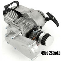 49CC PULL-START 2-STROKE ENGINE & TRANSMISSION FOR ATV POCKET MINI BIKE SCOOTER