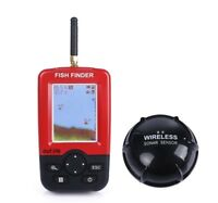 Portable Fish Finder With Wireless Sonar Sensor Echo Sounder For Lake Sea Tackle