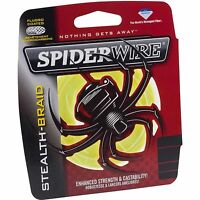 SPIDERWIRE STEALTH Braid 500 Yards-Pick Color/Line Class Free FAST Shipping