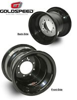 NEW - Pair (x2) Goldspeed Youth ATV Wheels - 8x6, 3+3, 4/110 & 4/115, Rolled Lip
