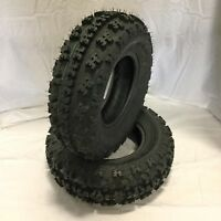 New - Pair of Two (2) - 6-Ply 22x7x10 GPS Gravity 648 ATV Front Tires - TRX