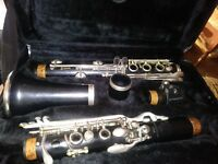 Kenosha Wis Clarinet (# 7214)  with hard case