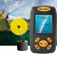 328FT Portable Fish Finder Depth Echo Sonar Alarm Sensor Transducer Fishfinder