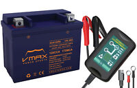 VMAX XCA120R9 ATV+1.5A CHGR 12V 9AH BATTERY YTX9-BS REPL FOR HONDA TRX250X 01-17
