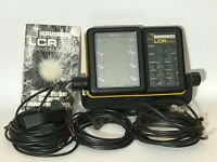 Humminbird LCR 2000 Fish Finder With Cords Transducer Operations Manual