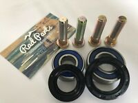 Honda ATV Hub Rebuild Kit TRX 450R 400 SPORTRAX ABEC 3 Bearings SealsStuds