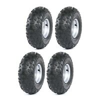 (4) x of 145/70-6 Tire & Rim 50 70 90 110cc Taotao Quad ATV Go Kart 4 wheel SunL