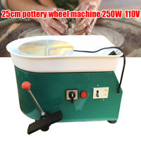 Pottery Wheel Machine Molding For Casting Work Ceramics Clay China 250W Green US