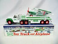 1997 Hess Toy Truck and Motorized Airplane