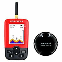 164 Feet  Large LCD Screen Wireless sensor fish finder and a depth sounder
